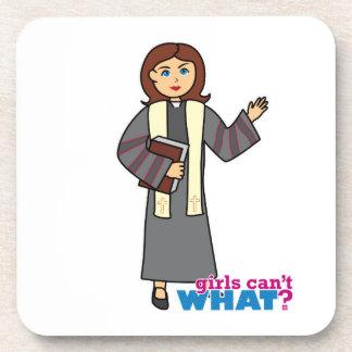 Preacher Girl Drink Coaster
