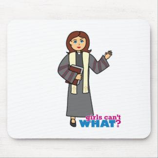 Preacher Girl Mouse Pad