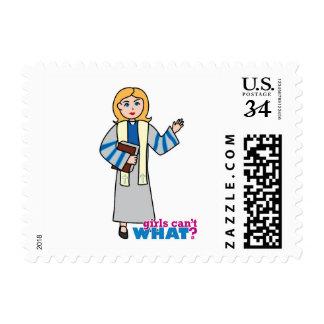 Preacher - Light Blonde Postage Stamp
