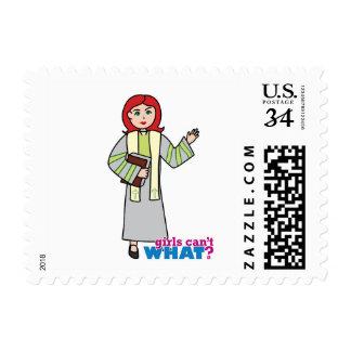 Preacher - Light Red Stamp