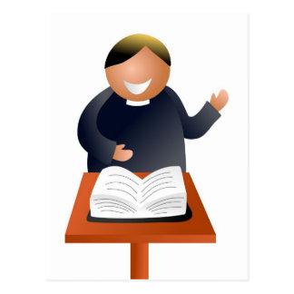 Preacher Postcard