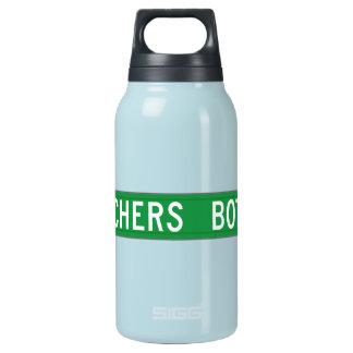 Preachers Bottom Dr., Street Sign, N. Carolina, US Insulated Water Bottle