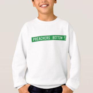 Preachers Bottom Dr., Street Sign, N. Carolina, US Sweatshirt