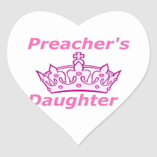 Preacher's Daughter Stickers