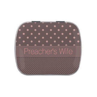 Preacher's Wife Jelly Belly Candy Tin
