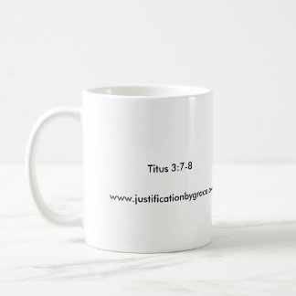Preaching Christ Crucified Coffee Cup for Lefties