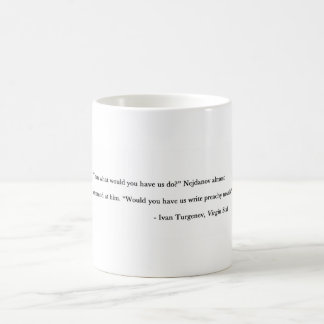 Preachy novels coffee mug