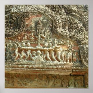 Preah Vihear temple Print