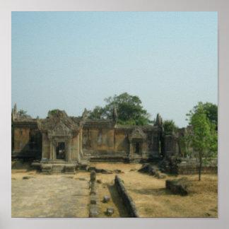 Preah Vihear temple Poster