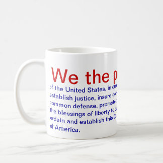 Preamble Coffee Mug