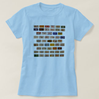 Preamble in Plates T-Shirt