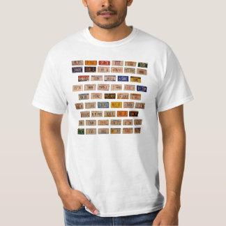 Preamble in Plates VSF01 Tee Shirts