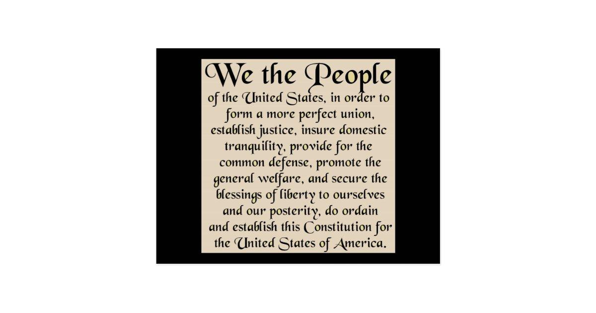 the establishment of the us constitution