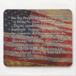 Preamble to the US Constitution Mousepads
