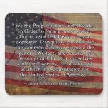 Preámbulo a la constitución de los E.E.U.U. Tapetes De Ratón