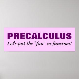 Precalculus Poster