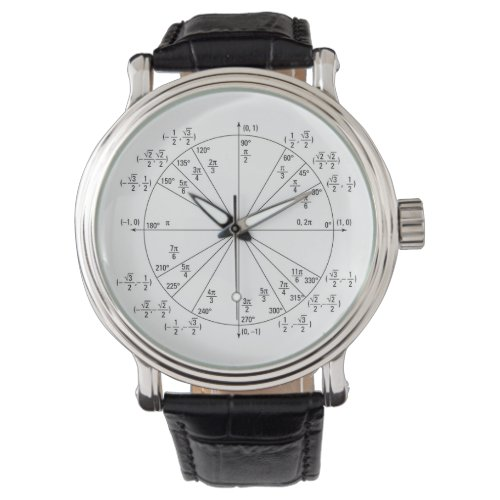 Precalculus Unit Circle Watch