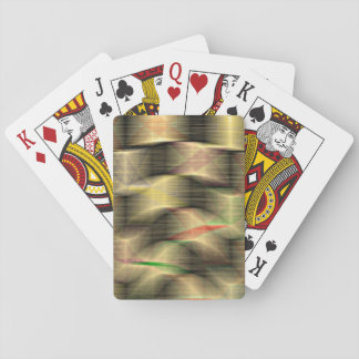 Precariously Stacked Playing Cards