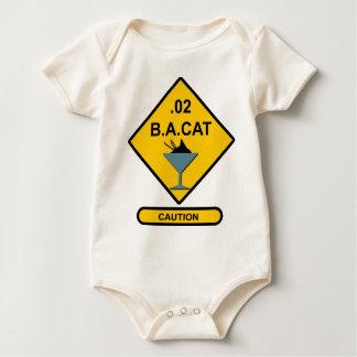 Precaución: .02 B.A. Cat Body De Bebé