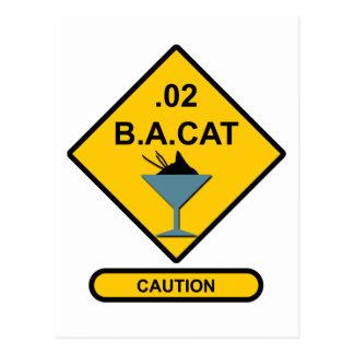 Precaución: .02 B.A. Cat Postal