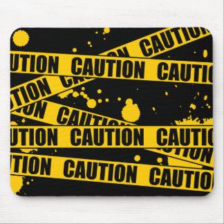 ¡Precaución! Alfombrilla De Ratones