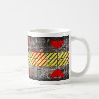 Precaución, buque caliente de las bebidas taza de café