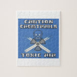 Precaución Chemtrails - aire tóxico Puzzles
