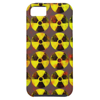 precaución, energía nuclear iPhone 5 protectores