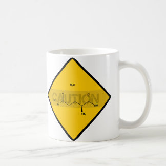 Precaución: Glutamato monosódico Taza De Café