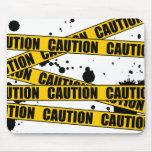 ¡Precaución! Tapete De Raton