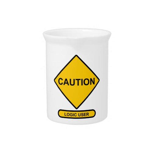 Precaución: Usuario de la lógica Jarron