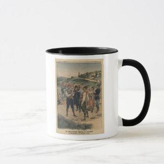 Precautions taken to prevent cholera mug