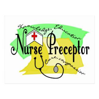 Preceptor de la enfermera postal