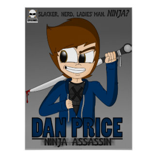 Precio de Dan: Poster del asesino de Ninja