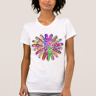 PRECIO DE VENTA: Camisa loca colorida de los