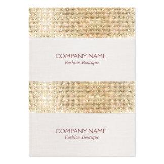 Precio, regalo o etiquetas colgantes de la tarjetas de visita grandes
