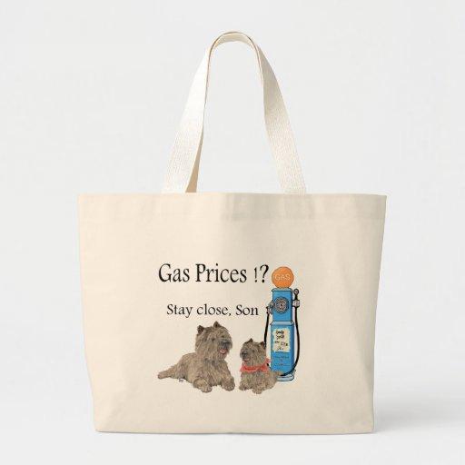 ¡Precios de la gasolina de los terrieres de mojón? Bolsas De Mano