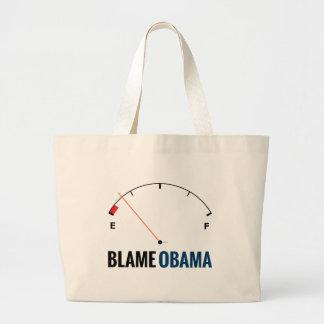 Precios de la gasolina de Obama Bolsa De Mano