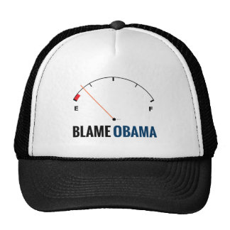 Precios de la gasolina de Obama Gorro De Camionero