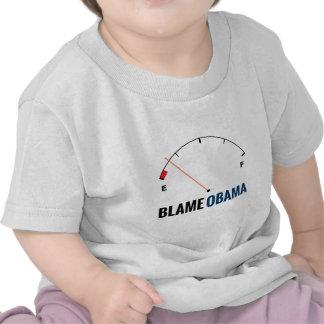 Precios de la gasolina de Obama Camiseta