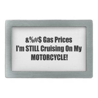 Precios de la gasolina Im todavía que cruza en mi Hebillas Cinturon Rectangulares