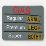Precios de la gasolina Mousepad Alfombrilla De Ratones