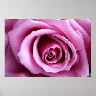 Precioso en lila póster