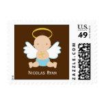 Precious Baby Boy Christening Stamp