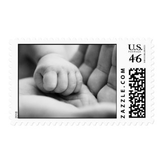Precious Baby Hand Postage Stamps