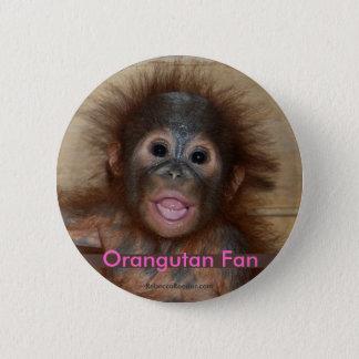 Precious Baby Orangutan Button