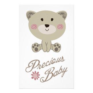 PRECIOUS BABY STATIONERY