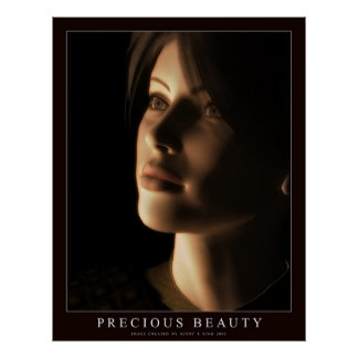Precious Beauty Print