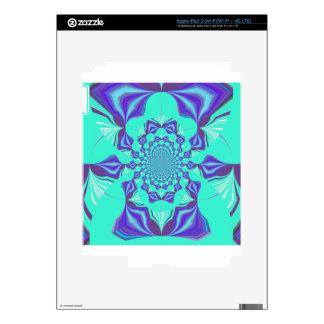 Precious blue skin for iPad 3