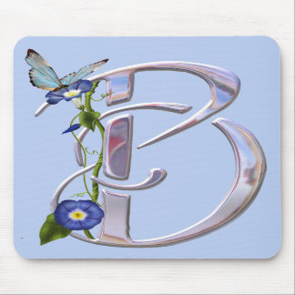 Precious Butterfly Initial B Mouse Mats